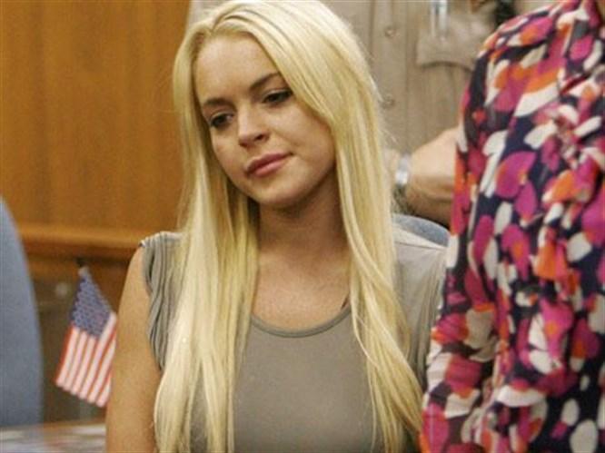 Lindsay Lohan cezaevinde